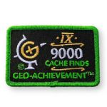 9000 Finds Geo-Achievement Patch